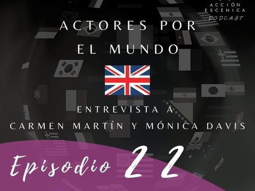 Actores por el mundo. Reino Unido.