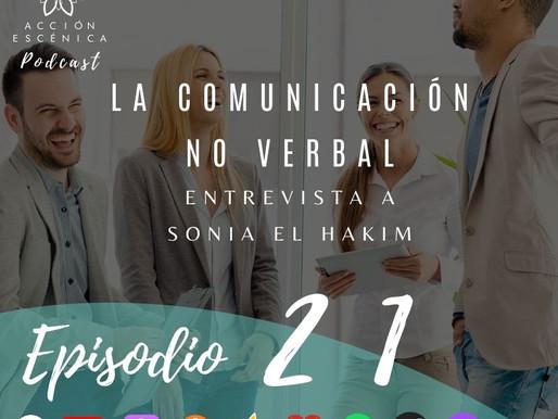 La Comunicación no verbal. Entrevista a Sonia El Hakim.