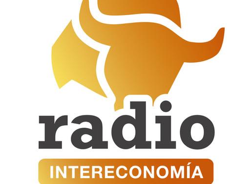 """Entrevista para el programa de radio """"Entre amigos"""" del canal INTERECONOMÍA."""