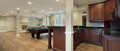 Basement With Fireplace And Bar.jpg