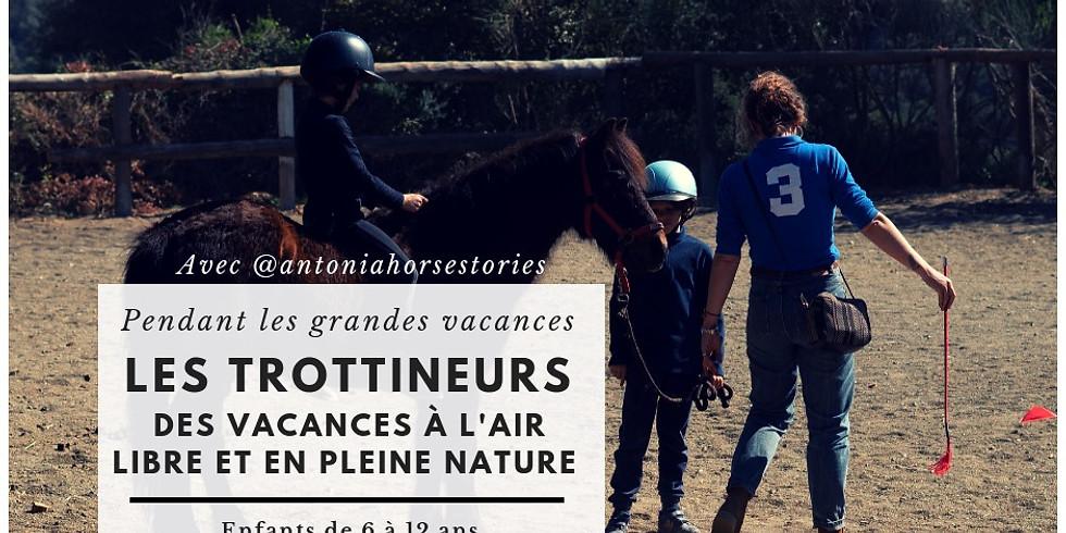 Les Trottineurs - vacances en plein air et avec les chevaux