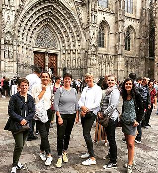 visite de Barcelone, en français, quartier gotique, visite privée,
