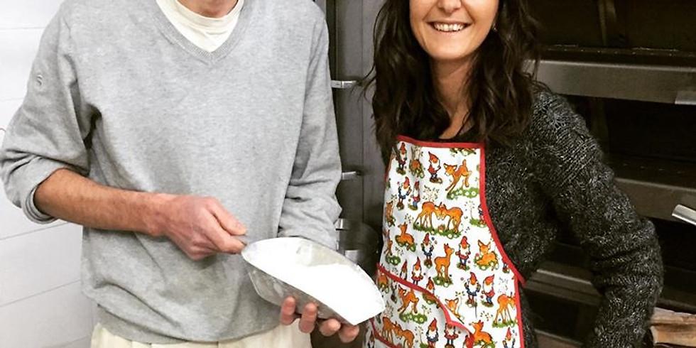 Atelier boulangerie avec notre boulanger préféré