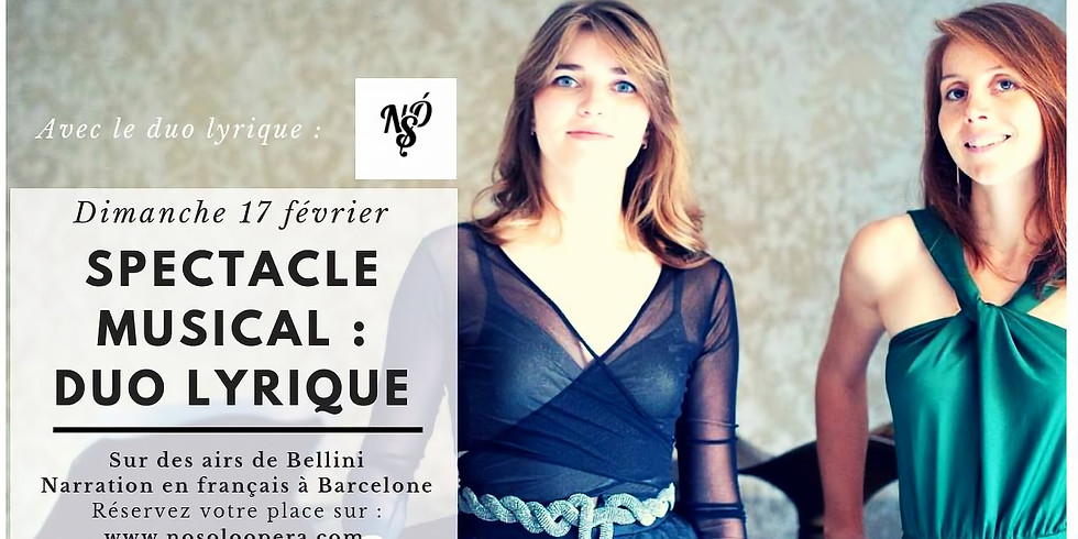 Spectacle musical : duo lyrique