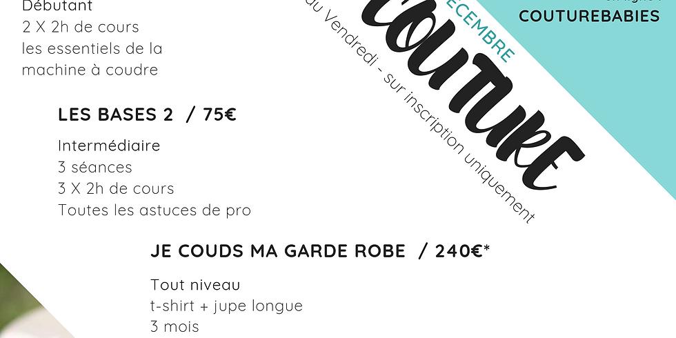 Cours de couture à Barcelone