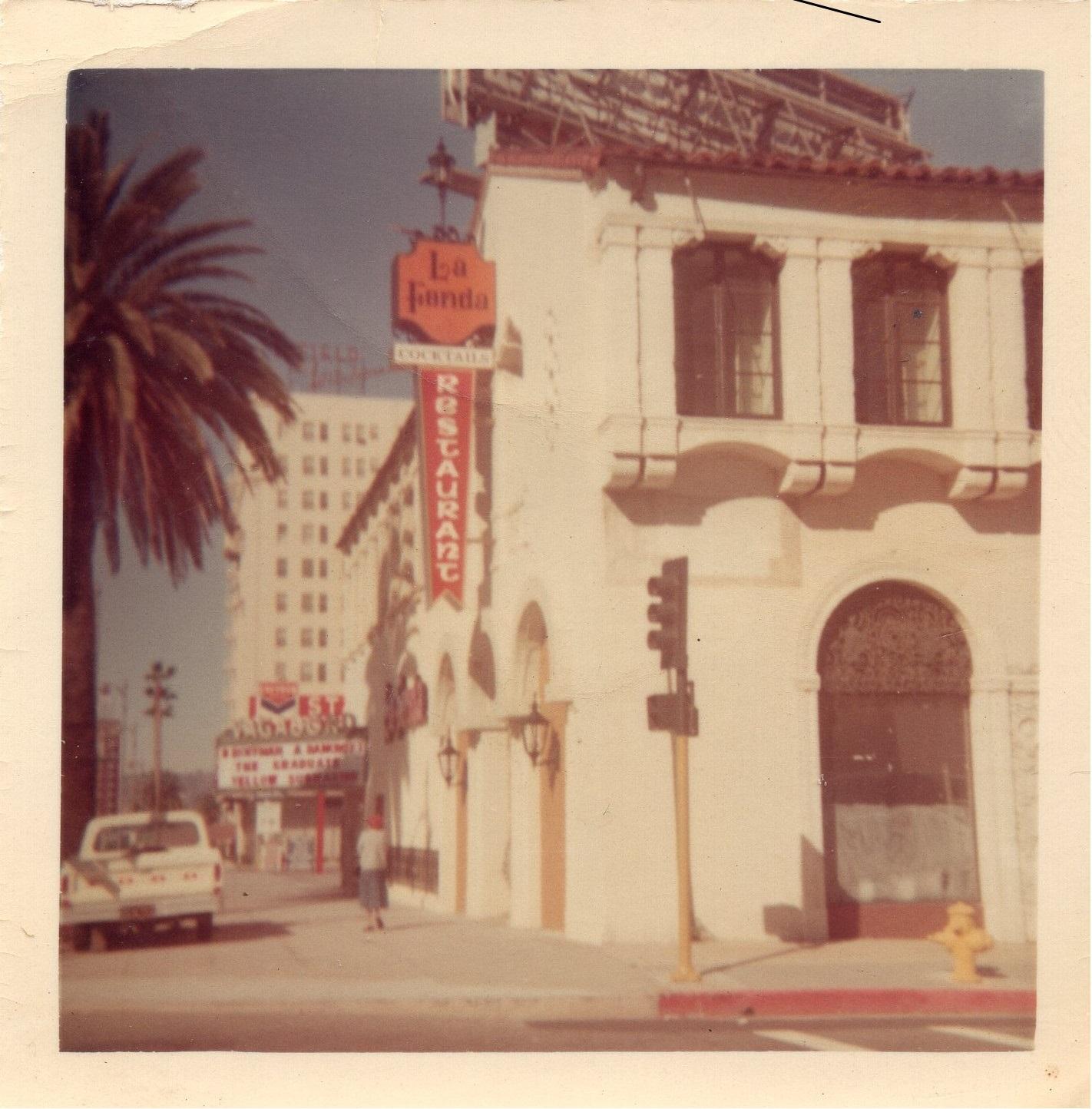 Vintage La Fonda 1969