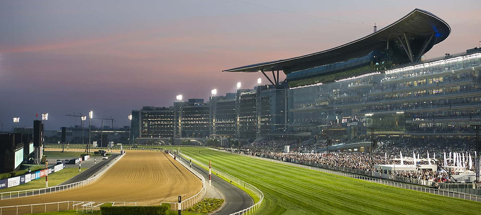 Meydan Racecourse in Dubai