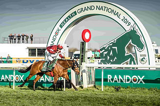 Tiger Roll at the Aintree Grand National