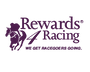 Rewards 4 Racing purple logo