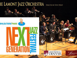 The LJO Has Been Chosen to Perform at The Monterey Next Generation Jazz Festival!