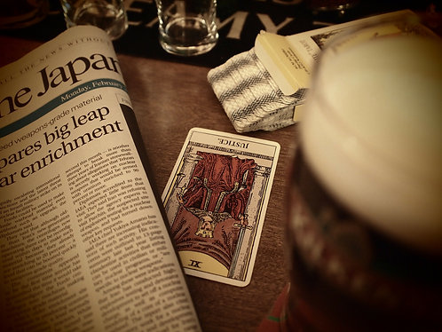 Basic Tarot Reading: The Wake-up Call