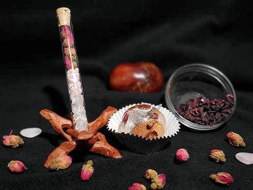 Devotional Spell Vial + Tea Bomb Combo