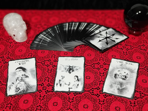 Tarot Reading: Coming Out of the Cold Spread