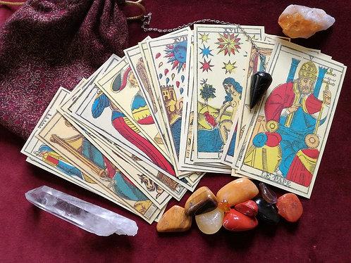 Custom Tarot Reading: Depression or Anxiety Spread