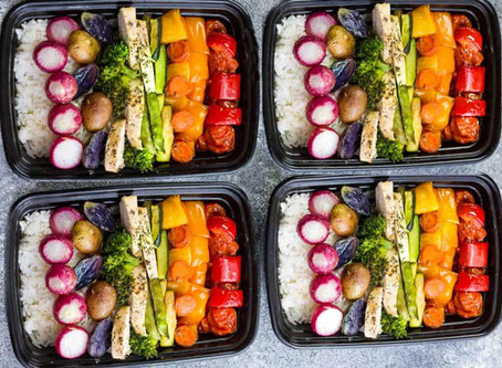 3 Reasons You Should Be Meal Prepping