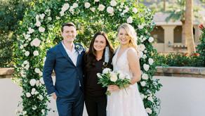 Kelly & Jon's Intimate Omni Montelucia Scottsdale Wedding