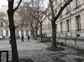 La cour du Lycée Charlemagne