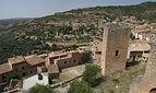 Village d'Alquezar vu de la collégiale