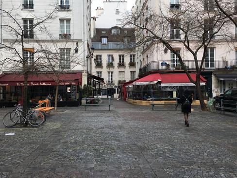 La Place du Marché Sainte-Catherine à Paris