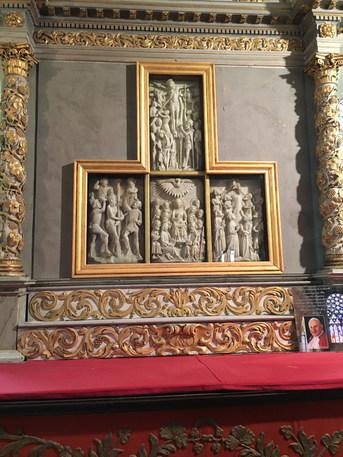 Le rétable d'Albâtre de l'église de Roscoff