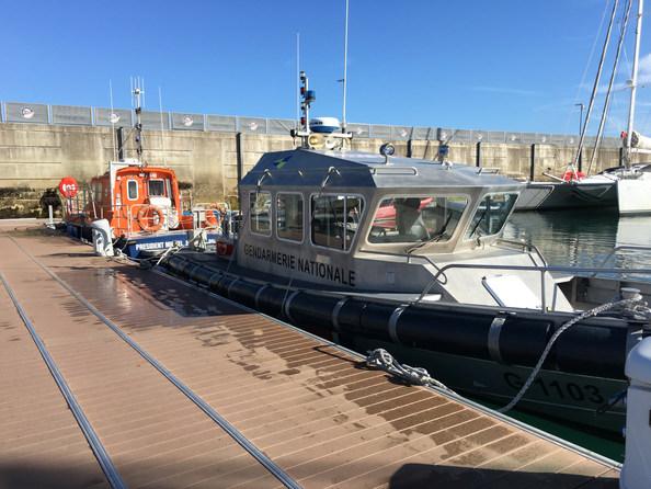 Les hydrojets de la Brigade nautique et du Secours en mer