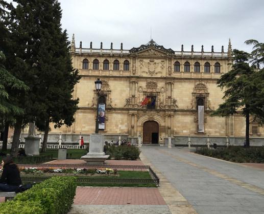La façade plateresque de l'Université d'Alcalá
