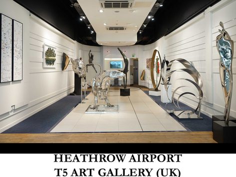 HEATHROW AIRPORT - T5 ART GALLERY (UK)