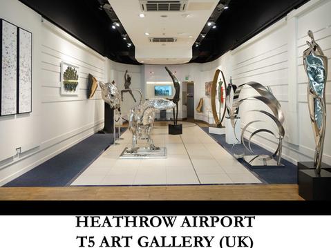 HEATHROW AIRPORT - T5 ART GALLERY (UK)