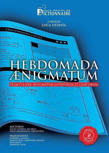Copertina Hebdomada Aenigmatum - Crucive