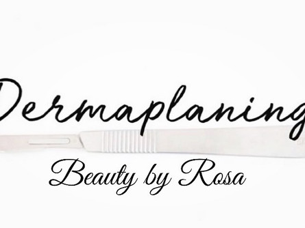 Wat is Dermaplaning @Beauty by Rosa