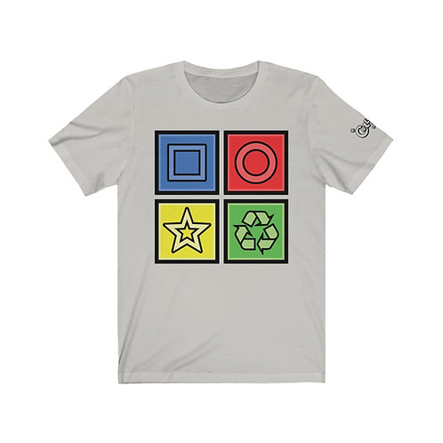 Collapsus© Recycle Block Tee