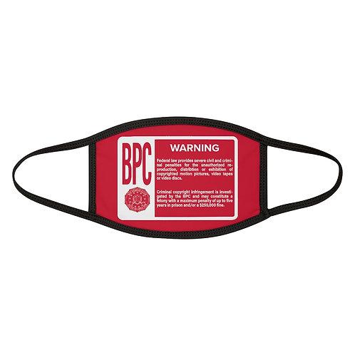 Big Peepee Club© Warning Mask