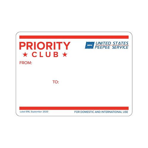 Big Peepee Club© 228 Sticker (Pack of 3)