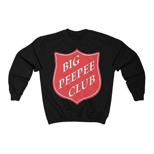 Big Peepee Club© Shield Sweatshirt