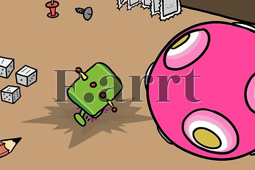 F.arrt: Shot7_smear.png by Chris Quay + Wearable Token