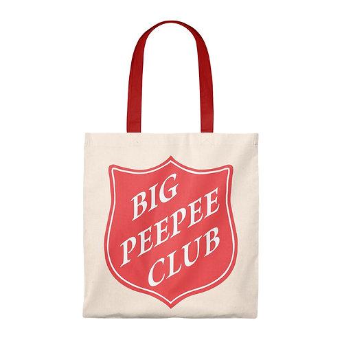 Big Peepee Club© Shield Tote