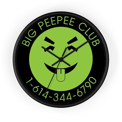 Big Peepee Club© Yucky Clock
