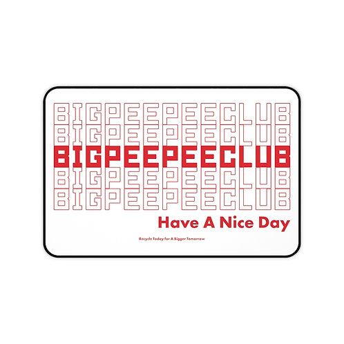 Big Peepee Club© Shopping Desk Mat