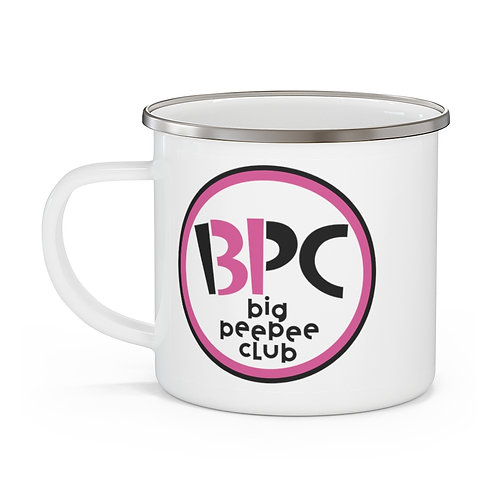 Big Peepee Club© Scoops Enamel Mug
