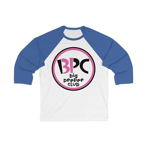 Big Peepee Club© Scoops Baseball Tee