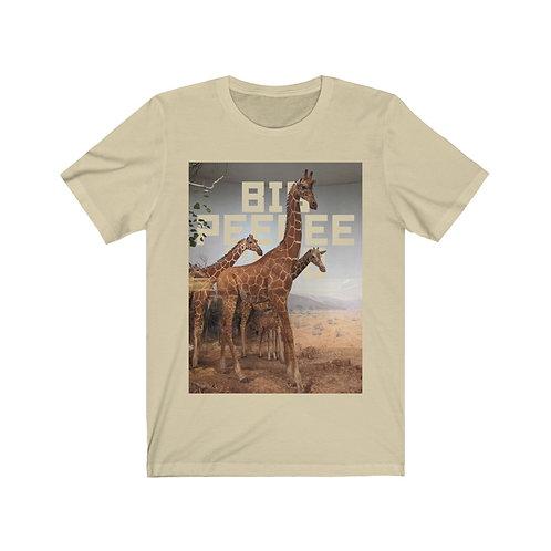 Big Peepee Club© Cutout Giraffe Tee