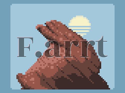 F.arrt: rock.png by Chris Quay + Wearable Token