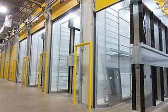 Avocado Ripening Rooms, 2 Tier Pressurized Ripening Rooms, Custom ripening room, tarp free ripening room,