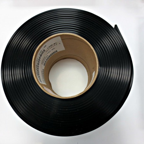 "7"" Black, USDA, PVC Vertical Gasket"