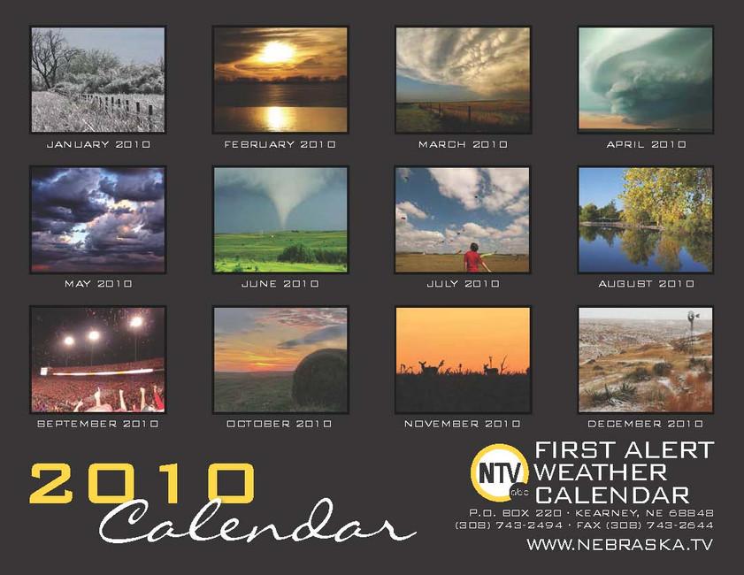 NTV 2009 Calendar
