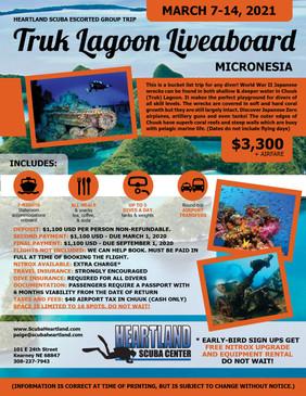 Truk Lagoon Flyer