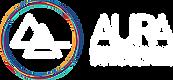 aura peak performance logo, mountains, aquarius, alchemy, chakras, holistic