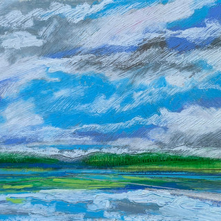 Dancing Clouds: Summer on the Lake 1