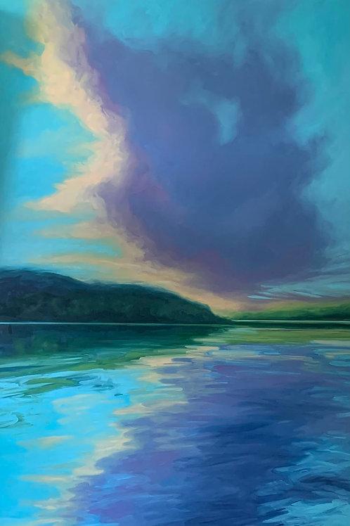 Purple Evening Cloud