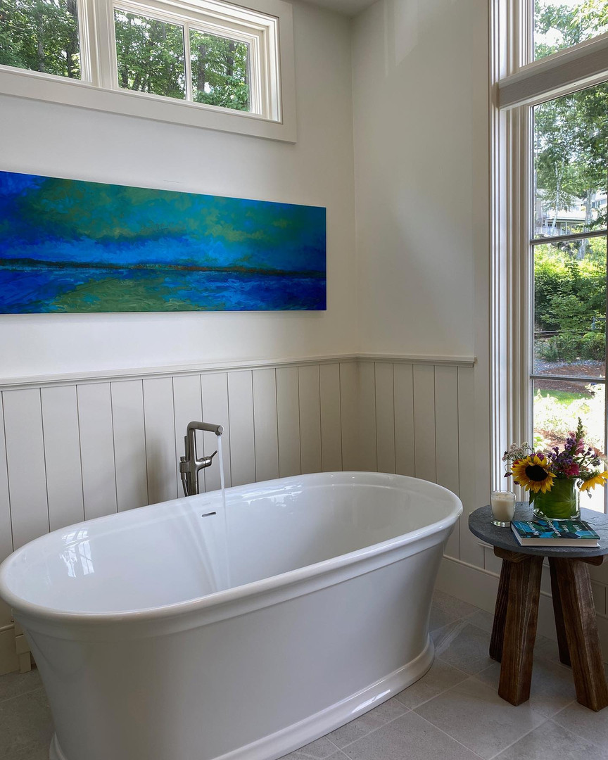 New Hampshire designer home courtesy Candita Clayton Gallery